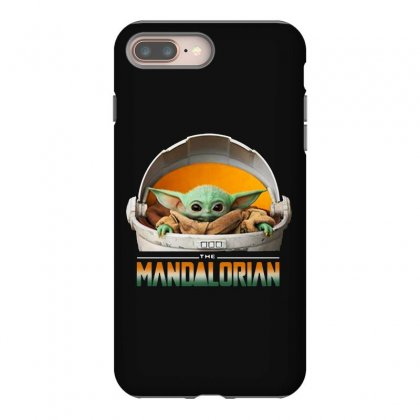 Baby Yoda The Mandalorian Iphone 8 Plus Case Designed By Fun Tees
