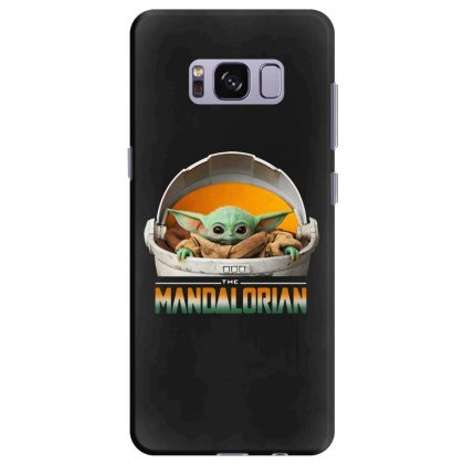 Baby Yoda The Mandalorian Samsung Galaxy S8 Plus Case Designed By Fun Tees
