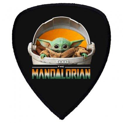 Baby Yoda The Mandalorian Shield S Patch Designed By Fun Tees