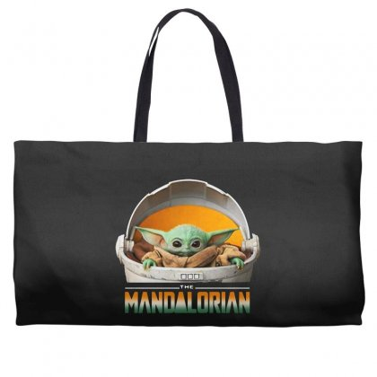 Baby Yoda The Mandalorian Weekender Totes Designed By Fun Tees