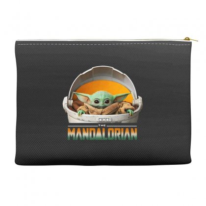 Baby Yoda The Mandalorian Accessory Pouches Designed By Fun Tees