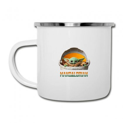 Baby Yoda The Mandalorian Camper Cup Designed By Fun Tees