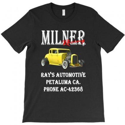 2019 Milner's Deuce Coupe American Graffiti Hot Rod T-shirt Designed By Pujangga45