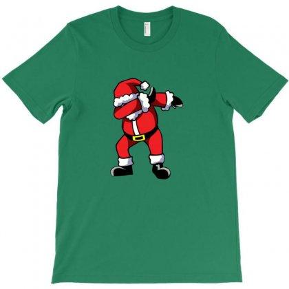Dabbing Santa T-shirt Designed By Ahmadjufriyanto