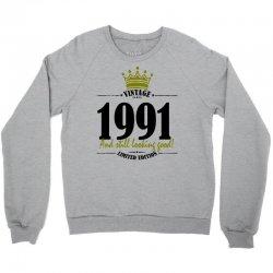 vintage 1991 and still looking good Crewneck Sweatshirt | Artistshot