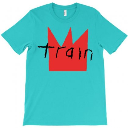 Train Rock Band Logo T-shirt Designed By Artwoman