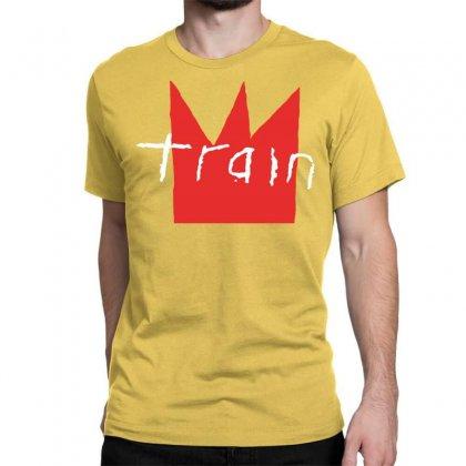 Train Rock Band White Classic T-shirt