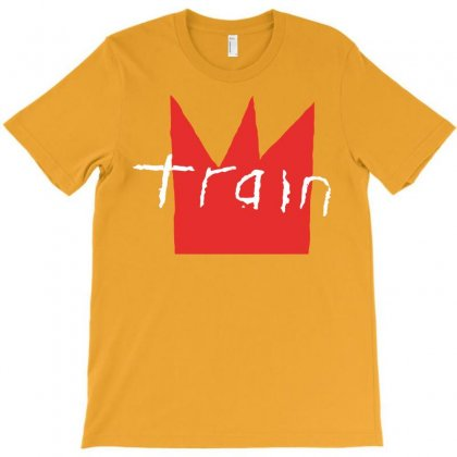 Train Rock Band White T-shirt Designed By Artwoman