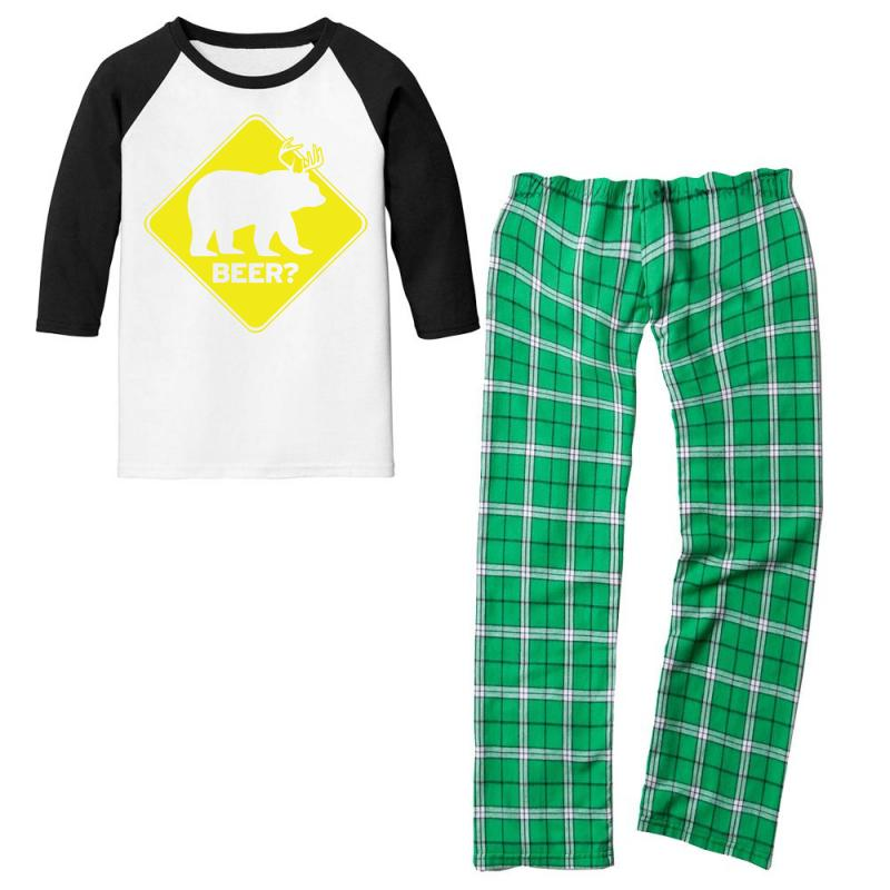 Beer Youth 3/4 Sleeve Pajama Set | Artistshot
