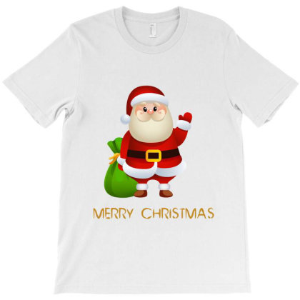 Merry Christmas T-shirt Designed By Amal Stor