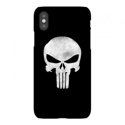 Punisher Skull Vintage Iphonex Case Designed By Dejavu77