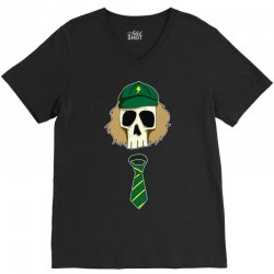 angus young ac dc V-Neck Tee   Artistshot