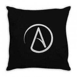 atheist atheism atheismus Throw Pillow | Artistshot