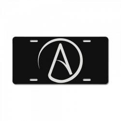atheist atheism atheismus License Plate | Artistshot