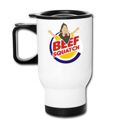 Beef Squatch Travel Mug Designed By L4l4pow