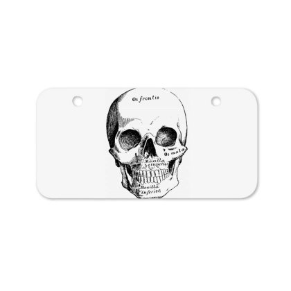 Skull Bicycle License Plate Designed By Estore
