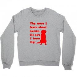 Love Dog Red Graphics Crewneck Sweatshirt | Artistshot