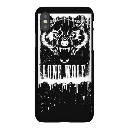 Lone Wolf Iphonex Case Designed By Estore