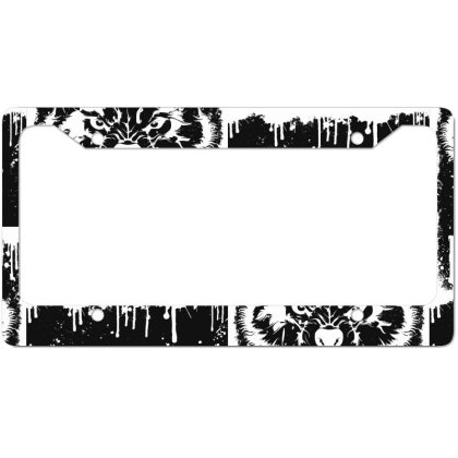 Lone Wolf License Plate Frame Designed By Estore