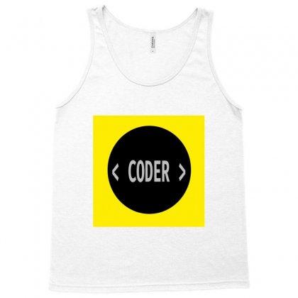 Coder Tank Top Designed By Akkitech_s