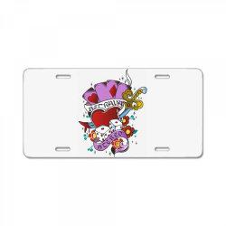 Heart License Plate | Artistshot