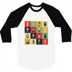 family of thrones 3/4 Sleeve Shirt   Artistshot