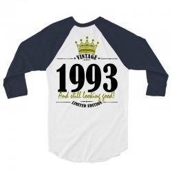 vintage 1993 and still looking good 3/4 Sleeve Shirt | Artistshot
