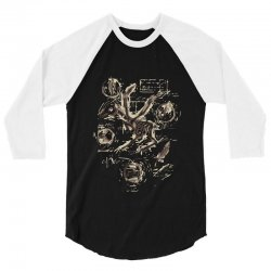 music anatomy 3/4 Sleeve Shirt | Artistshot