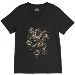 music anatomy V-Neck Tee | Artistshot