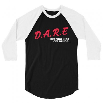 Alexis Ohanian Dare Keeping Kids Off Drugs 3/4 Sleeve Shirt Designed By Sr88