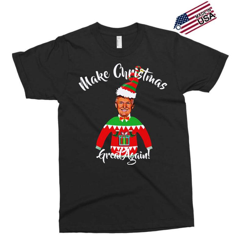 Funny Trump Christmas Ugly Christmas Exclusive T-shirt | Artistshot