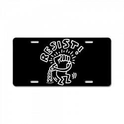 RESIST - KEITH HARING License Plate   Artistshot