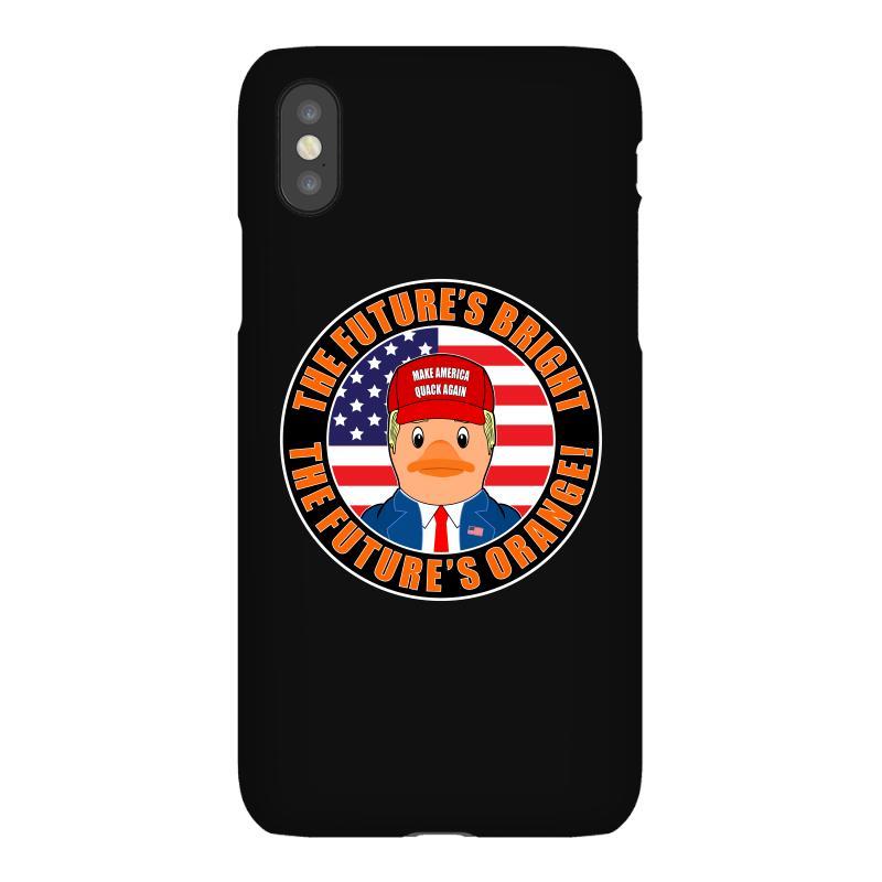 Rubber Duck Donald Trump The Futures Bright The Futures Orange Iphonex Case | Artistshot