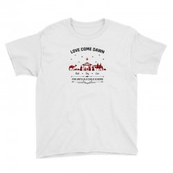 love came down best day ever for unto us a child is born christmas for Youth Tee | Artistshot