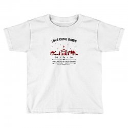 love came down best day ever for unto us a child is born christmas for Toddler T-shirt | Artistshot