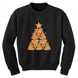 christmas tree pizza Youth Sweatshirt | Artistshot