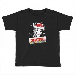 christmas zebra Toddler T-shirt | Artistshot