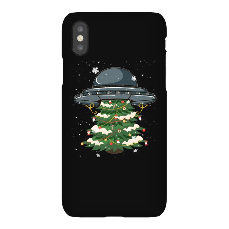 Ufo Christmas Pine Tree Iphonex Case | Artistshot