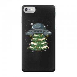 ufo christmas pine tree iPhone 7 Case | Artistshot