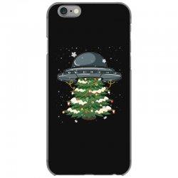 ufo christmas pine tree iPhone 6/6s Case | Artistshot