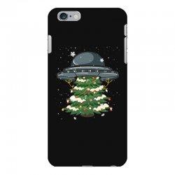 ufo christmas pine tree iPhone 6 Plus/6s Plus Case | Artistshot