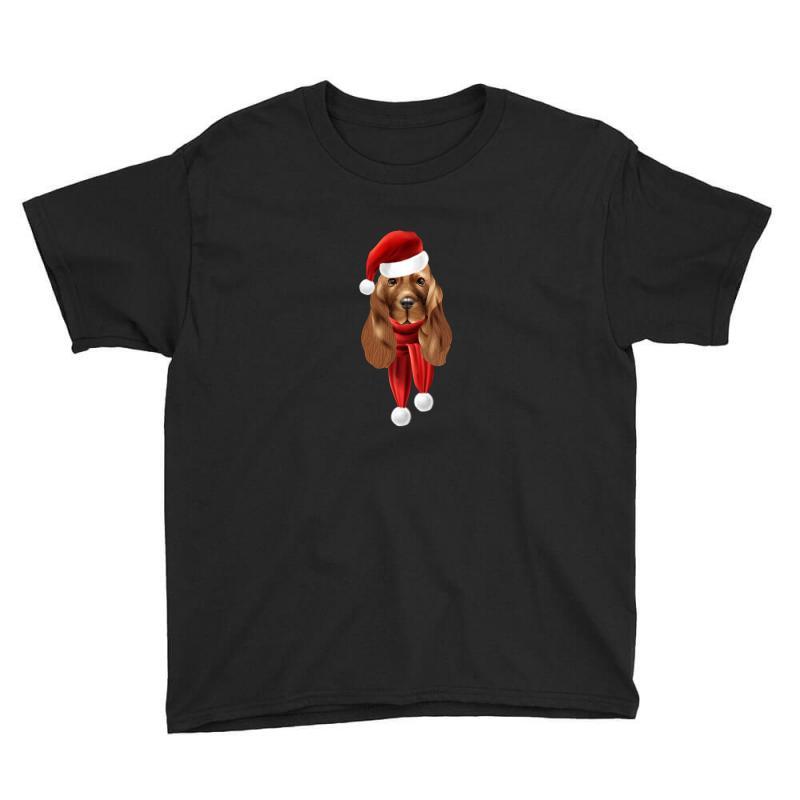 Santa Claus Dog Youth Tee | Artistshot