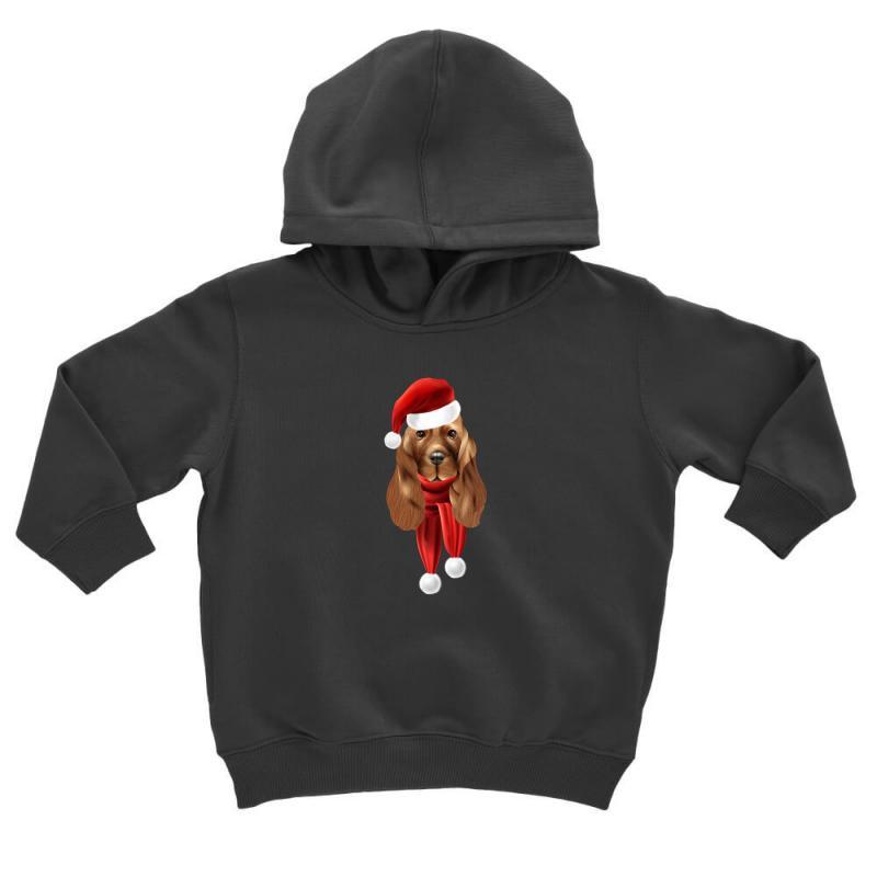Santa Claus Dog Toddler Hoodie | Artistshot