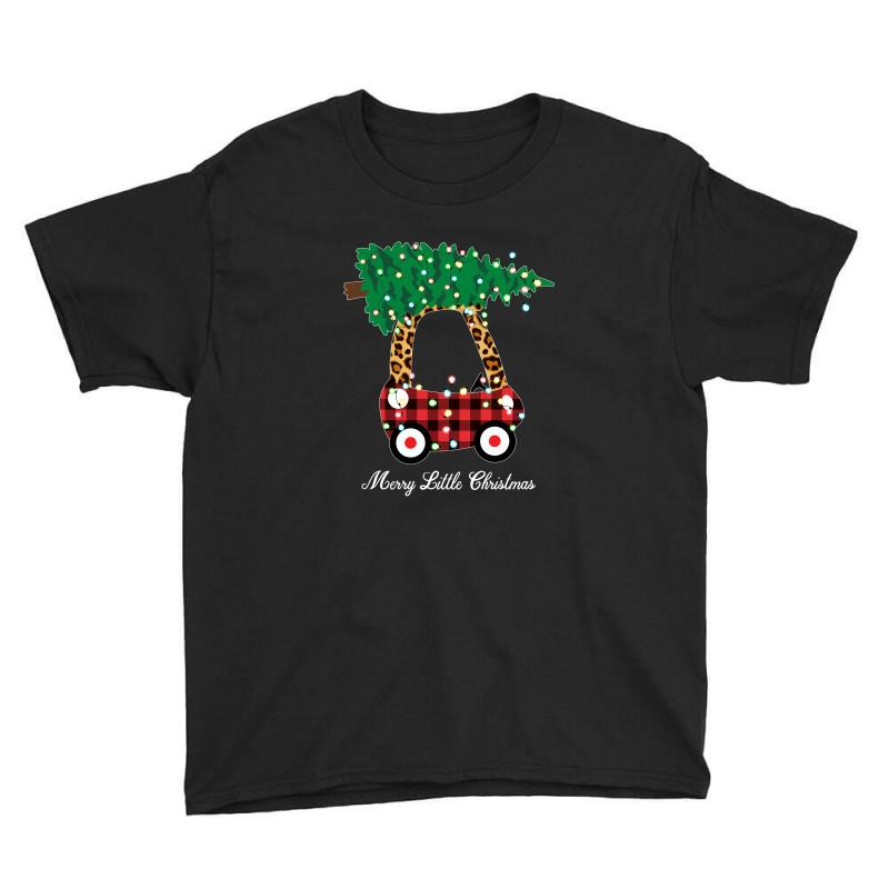 Merry Little Christmas For Dark Youth Tee | Artistshot