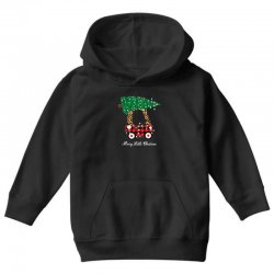 merry little christmas for dark Youth Hoodie | Artistshot