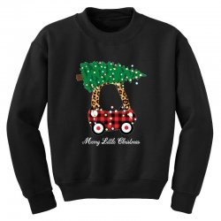 merry little christmas for dark Youth Sweatshirt | Artistshot