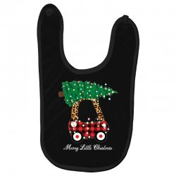 merry little christmas for dark Baby Bibs | Artistshot