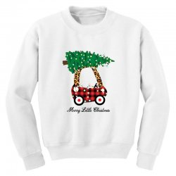 merry little christmas for light Youth Sweatshirt | Artistshot
