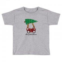 merry little christmas for light Toddler T-shirt | Artistshot