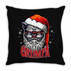 Grumpa Like A Regular Grandpa Only Grumpier Throw Pillow | Artistshot